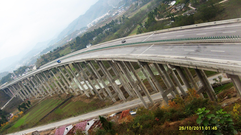 广陕高速公路伍家坝大桥-中国中铁隧道集团二处有限